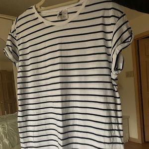 H&M Stripped T-Shirt Dress
